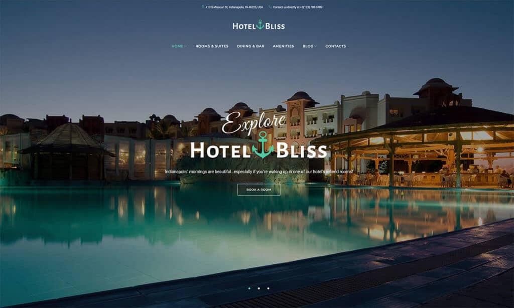 Cozy-hotel-website-templates