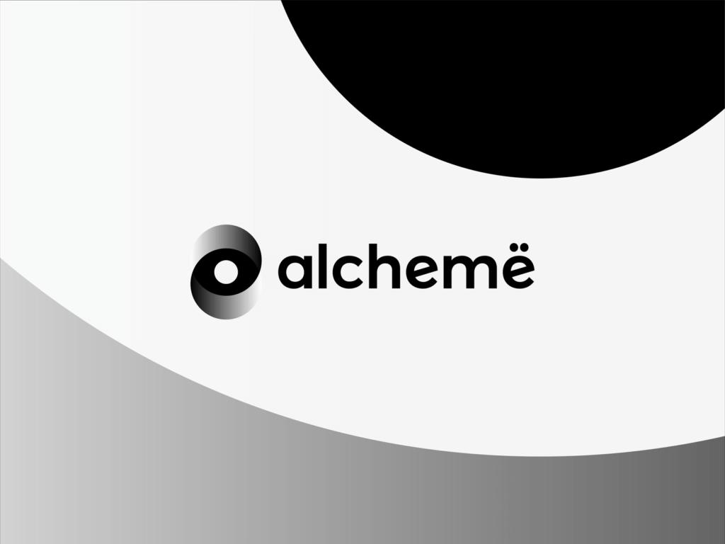 Alcheme Social Platform Beauty Professionals Logo Design By Alex Tass 4x Png