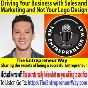 Michael Nemeroff-co-founder And Co-owner Of Rush Order Tees-driving Your Business With Sales And Marketing And Not Your Logo Design Jpg