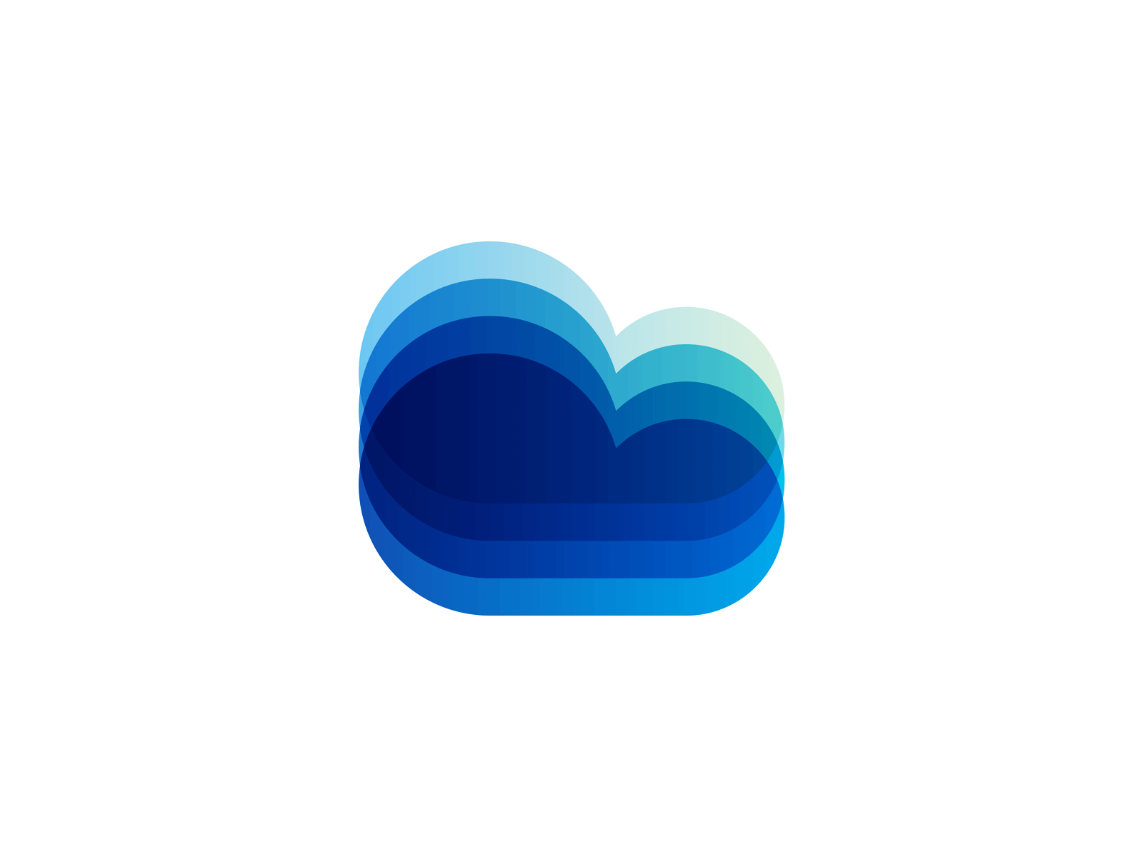 Cloud Digital Ecosystem Logo Design By Alex Tass 4x Png