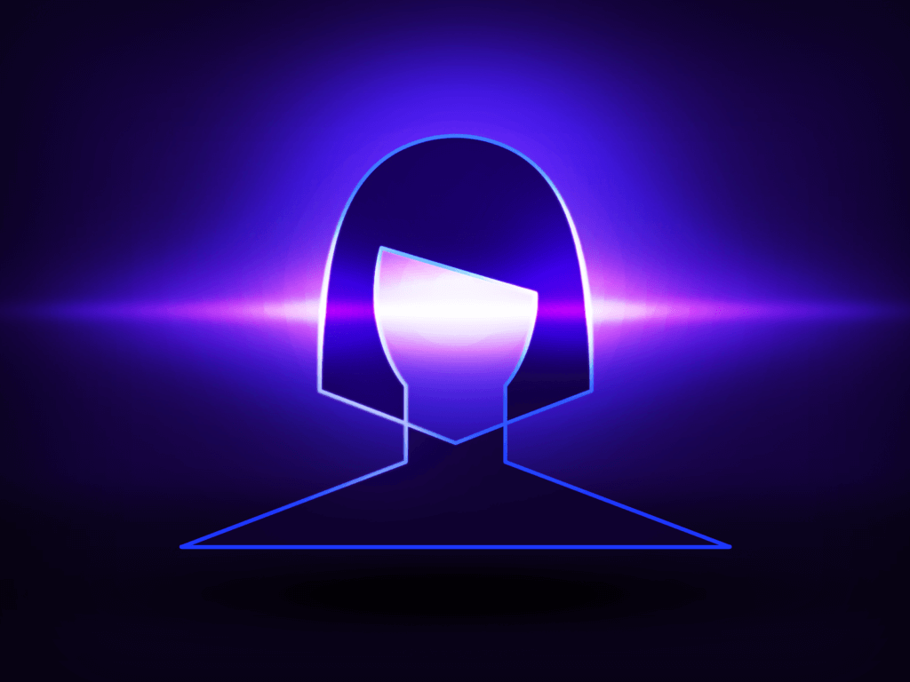 Feminine-female-ai-quorra-tron-logo-design-by-alex-tass 4x Png