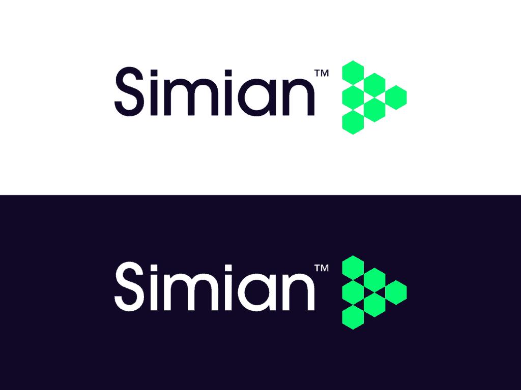 Simian Saas Video Sharing Platform Play Icon Logo Design By Alex Tass 4x Png