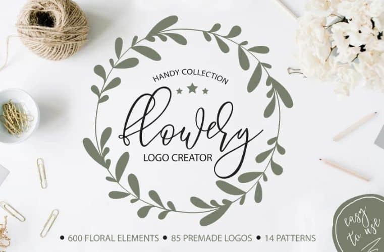 Premade-flower-logo-idea-1 Jpg