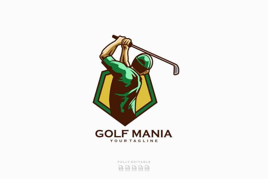 Golf-game-logotype-design Jpg