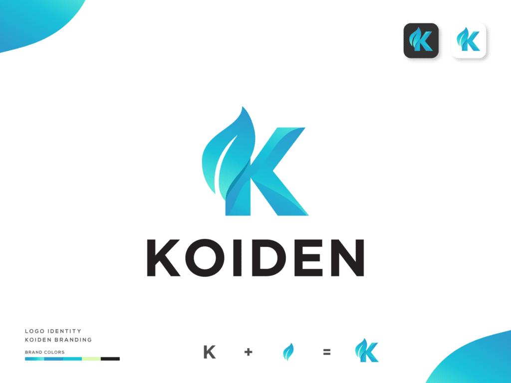 K- -leaf-logo Png