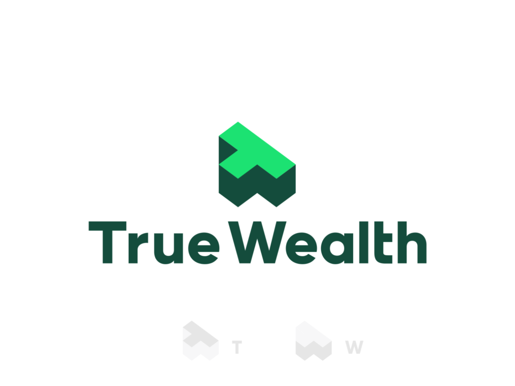 True Wealth Financial Advisory Consulting Firm Logo Design By Alex Tass Png
